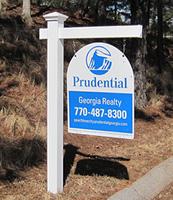 4x4 Real Estate Post Sign