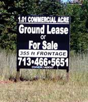 4x4 Real Estate Sign